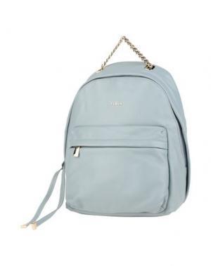 Рюкзаки и сумки на пояс FURLA. Цвет: небесно-голубой
