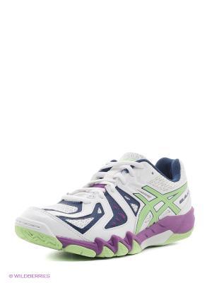 Кроссовки GEL-BLADE 5 ASICS. Цвет: белый, фиолетовый