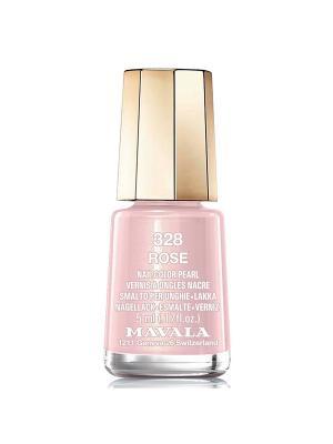 Лак для ногтей тон 328 Rose Mavala. Цвет: розовый