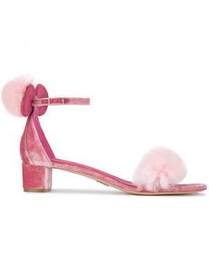 Босоножки Minnie 40 Oscar Tiye. Цвет: розовый и фиолетовый