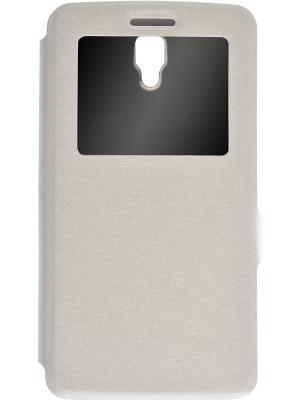 Чехол-книжка для Lenovo A2010 Prime. Цвет: белый