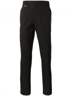 Спортивные брюки с лампасами Golden Goose Deluxe Brand. Цвет: коричневый