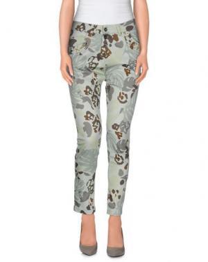 Повседневные брюки QUEGUAPA. Цвет: светло-зеленый