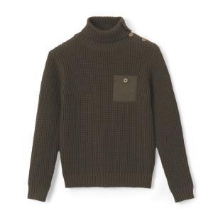 Пуловер из оригинального трикотажа, 3-12 лет La Redoute Collections. Цвет: хаки