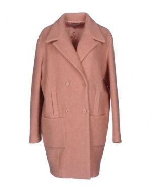 Пальто FAIRLY. Цвет: розовый