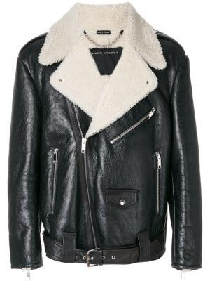Куртка с подкладкой из овчины Marc Jacobs. Цвет: чёрный