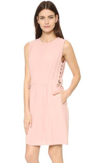 Платье Ves Intropia. Цвет: оранжевый