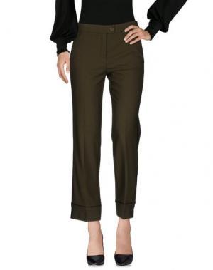 Повседневные брюки BEATRICE. B. Цвет: зеленый-милитари