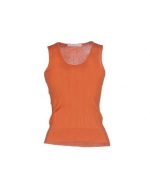 Топ без рукавов BP STUDIO. Цвет: оранжевый