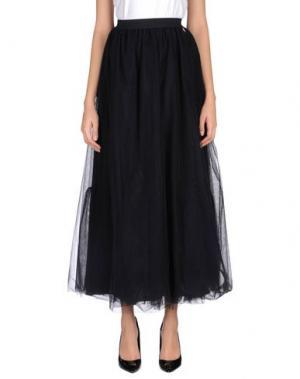 Длинная юбка NAUGHTY DOG. Цвет: черный