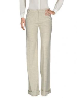 Повседневные брюки MAURIZIO PECORARO. Цвет: зеленый