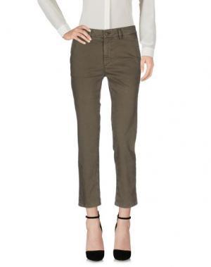 Повседневные брюки GOLD CASE. Цвет: серый