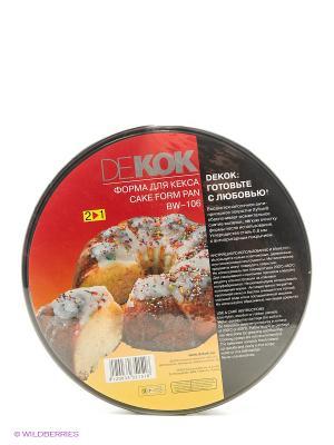 Форма для кекса (2 в 1) DEKOK. Цвет: черный