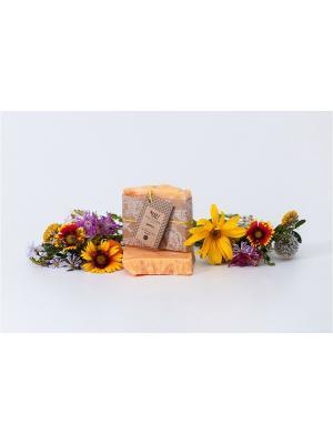 Натуральное мыло на ценных органических маслах Цитрус OrganicZone. Цвет: светло-оранжевый