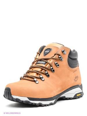 Ботинки Ascot. Цвет: светло-коричневый, черный