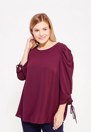 Блуза Dorothy Perkins Curve. Цвет: фиолетовый