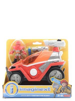 Игровой набор Городские спасатели Mattel. Цвет: желтый, белый, прозрачный