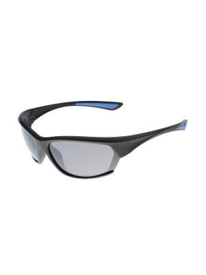 Солнцезащитные очки Gusachi. Цвет: черный, серый, красный