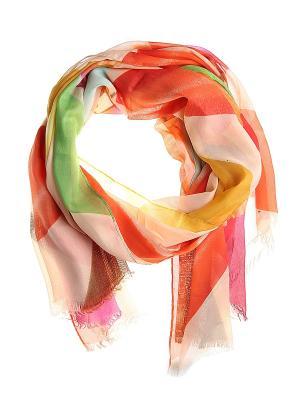 Платок Migura. Цвет: оранжевый, зеленый, коричневый, малиновый, сиреневый