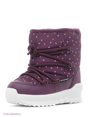 Ботинки Senia Boot I Adidas. Цвет: бордовый, белый