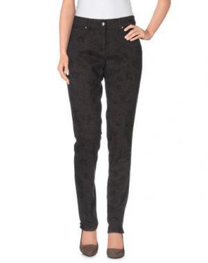 Повседневные брюки JEANS & POLO. Цвет: темно-коричневый