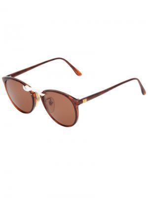 Солнцезащитные очки Moo Piyasombatkul. Цвет: коричневый