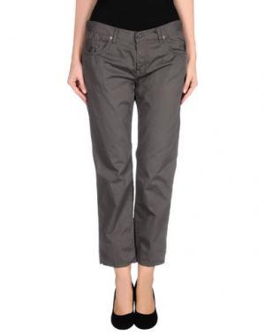 Повседневные брюки MAURO GRIFONI. Цвет: свинцово-серый