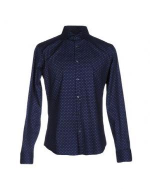 Pубашка MASSIMO BRUNELLI. Цвет: темно-синий