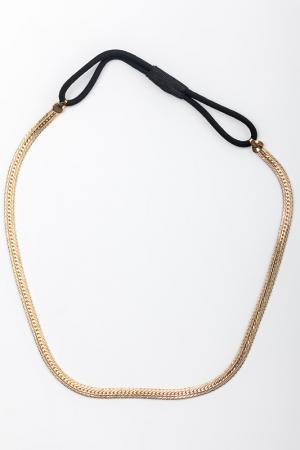 Резинка для греческой прически CHARDIN. Цвет: золотой