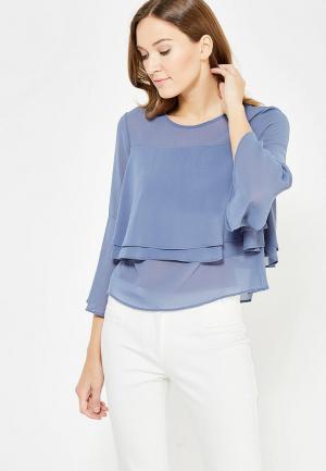Блуза Motivi. Цвет: синий