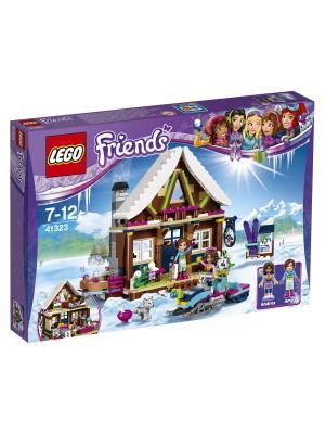 LEGO Friends Горнолыжный курорт: шале 41323. Цвет: синий