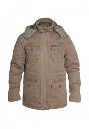 Куртка утепленная Tactical Frog. Цвет: коричневый