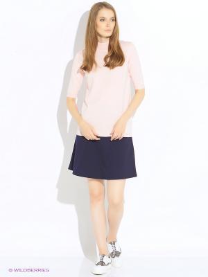 Пуловер Modis. Цвет: кремовый, молочный, розовый
