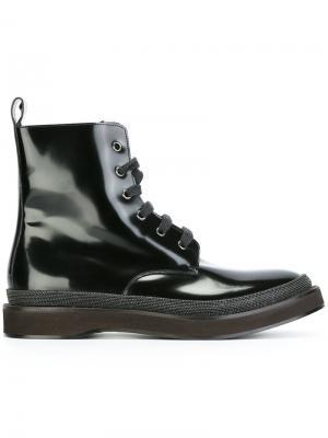 Ботинки по щиколотку Brunello Cucinelli. Цвет: чёрный