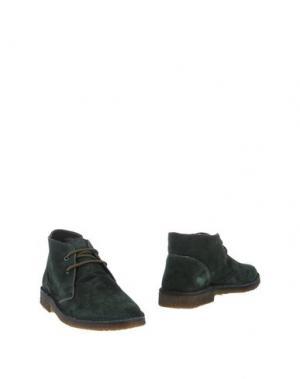 Полусапоги и высокие ботинки SIMONE MARIOTTI. Цвет: темно-зеленый
