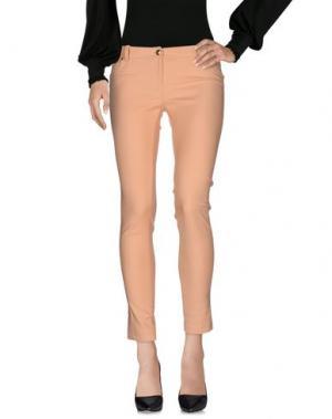 Повседневные брюки BETTY BLUE. Цвет: абрикосовый