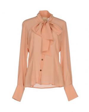 Pубашка GARAGE NOUVEAU. Цвет: розовый