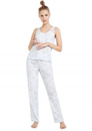 Пижама с брюками Womensecret Women'secret. Цвет: разноцветный (цветной)