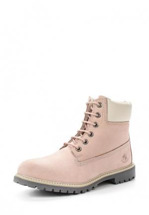 Ботинки LumberJack. Цвет: розовый