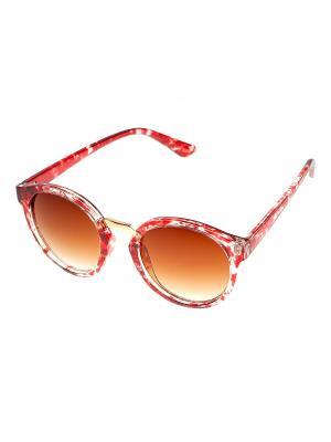 Солнцезащитные очки. Bijoux Land. Цвет: красный