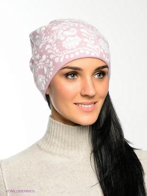Шапка FOMAS. Цвет: белый, розовый