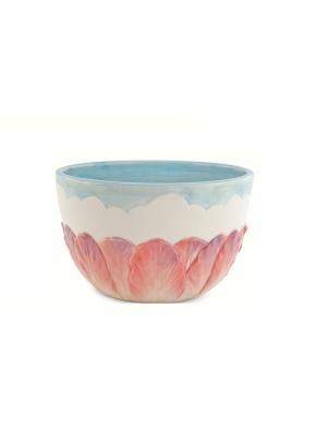 Чаша Флоранс Elff Ceramics. Цвет: белый, голубой, сиреневый