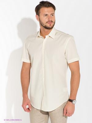 Рубашка Greg Horman. Цвет: кремовый