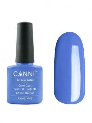 Гель лак №79 CANNI. Цвет: синий