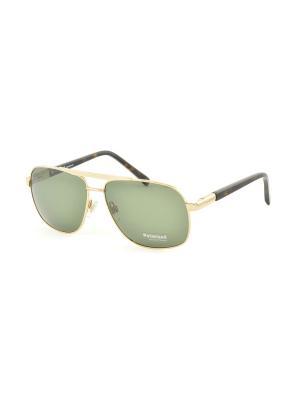 Солнцезащитные очки MEGAPOLIS. Цвет: зеленый
