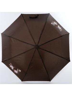 Зонт ArtRain. Цвет: коричневый, темно-бежевый