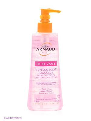 Тоник для лица нежный с розовой водой ARNAUD. Цвет: розовый