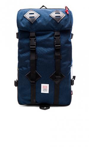 Рюкзак klettersack TOPO DESIGNS. Цвет: синий