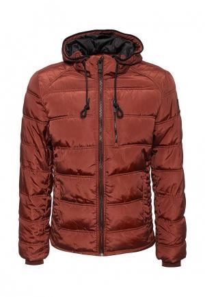 Куртка утепленная Medicine. Цвет: коричневый