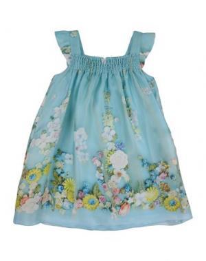 Платье MIMISOL. Цвет: цвет морской волны